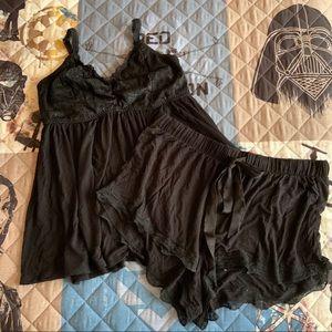 Black Pajama Set